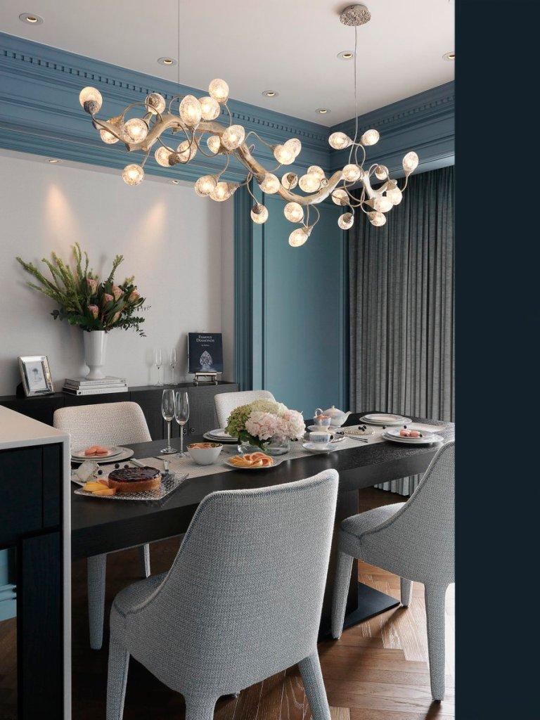 Serip glamour y lujo en lmparas  Villalba Interiorismo