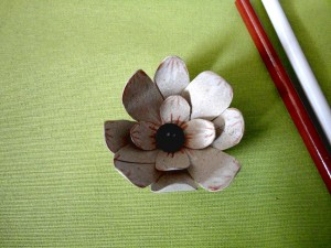flor material reciclable