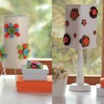Lámparas originales en primavera