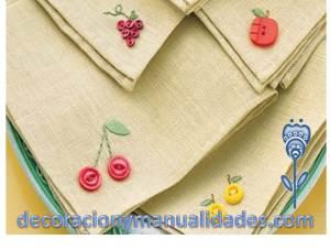 servilletas para adornar la mesa