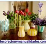 Redecora los Jarrones y floreros