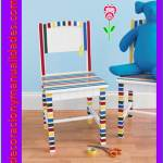 como decorar una silla infantil