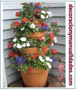 maceteros sorprendentes fuente floral