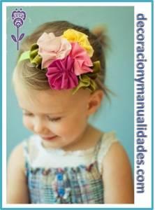 flores para cabello