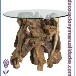 mesa para jardín elegante y campirano