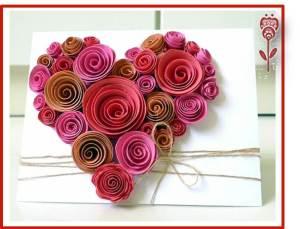 tarjeta corazon san valentin