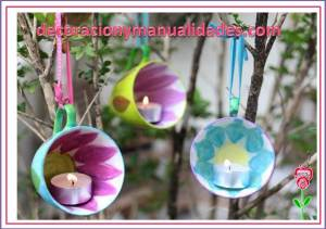 decoracion romantica con luces