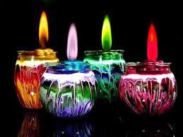 manualidad y decoracion con velas
