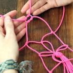 Macetero Suspendido con Cuerdas en Sencillo Pasos