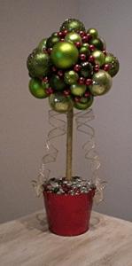 Como hacer un Árbol con esferas2
