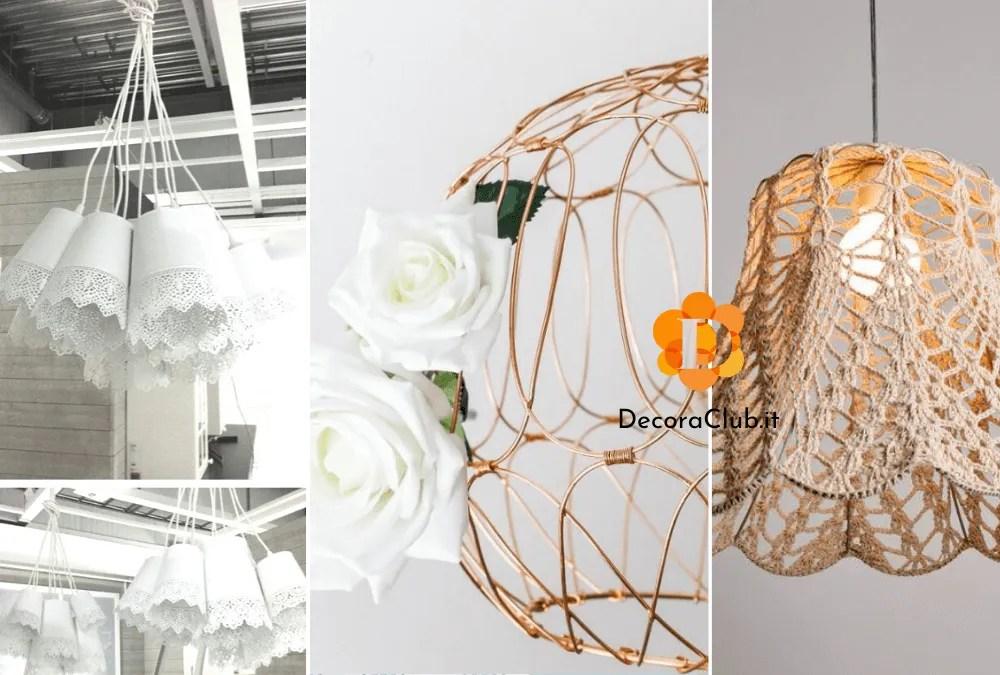 Prendi spunto da queste 10 bellissime idee per realizzare lampade bellissime! Lampadari Fai Da Te 10 Idee Creative E Tutorial Decoraclub It