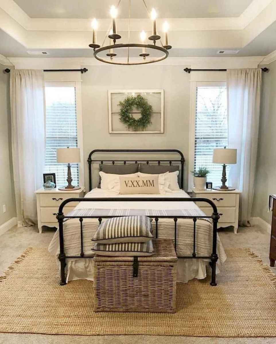 22 Rustic Farmhouse Style Master Bedroom Decorating Ideas
