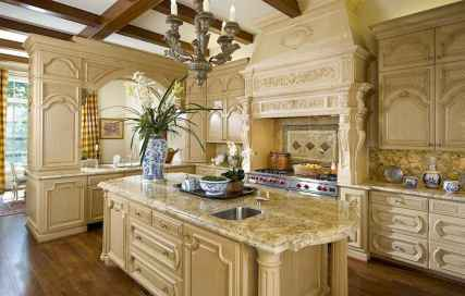 38 Simple French Country Kitchen Decor Ideas