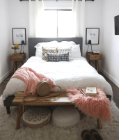 39 Cozy Small Master Bedroom Decorating Ideas