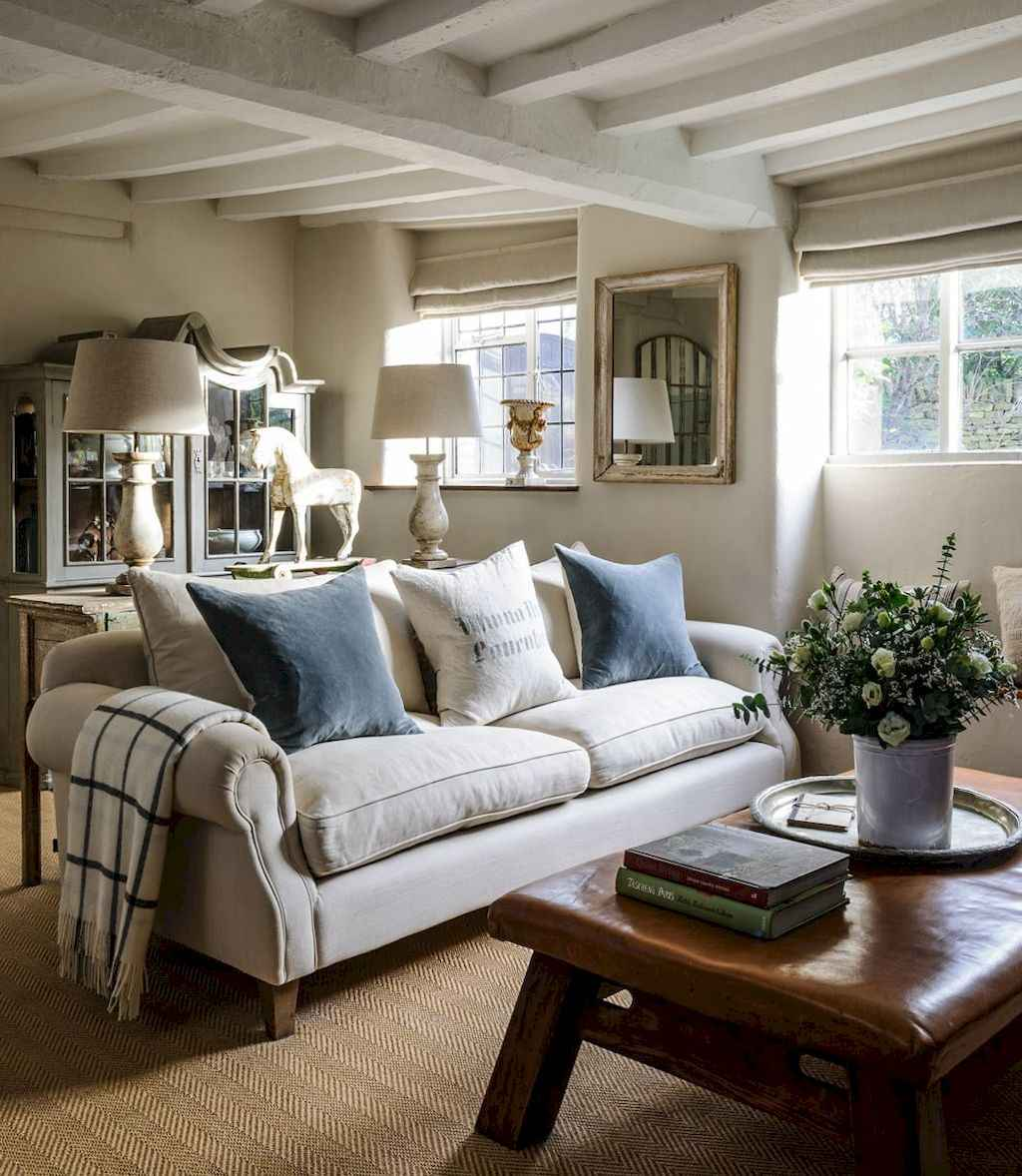 64 Elegant French Country Living Room Decor Ideas
