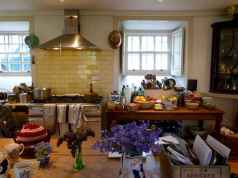 64 Simple French Country Kitchen Decor Ideas