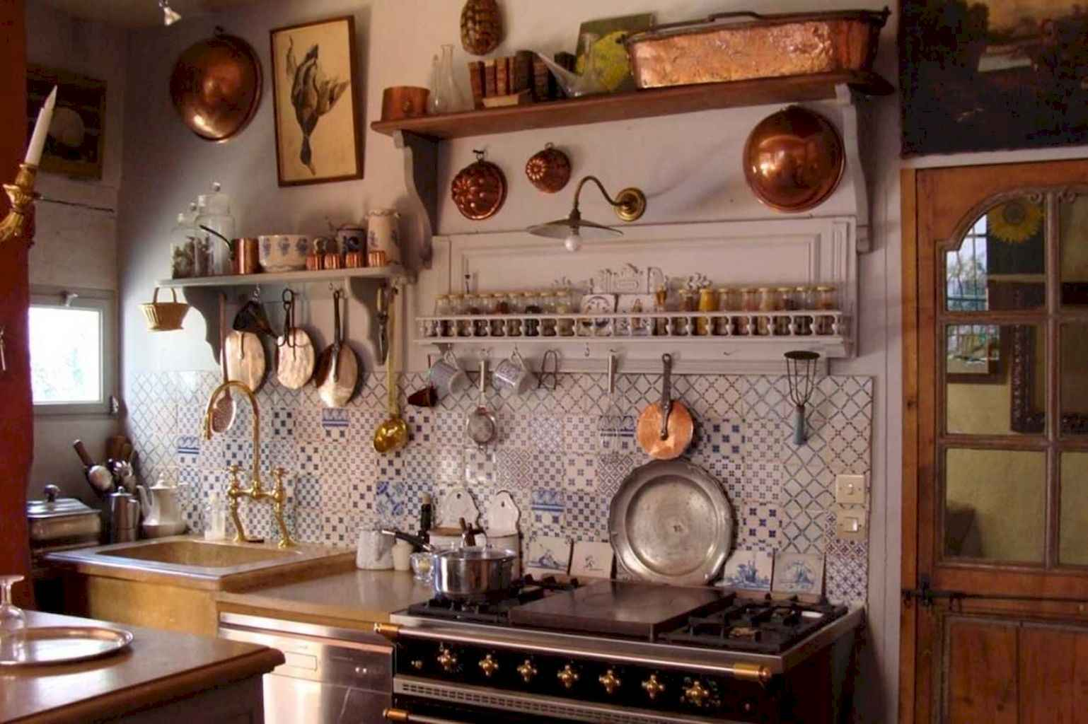 80 Simple French Country Kitchen Decor Ideas
