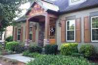 04 Beautiful Wooden and Stone Front Porch Ideas
