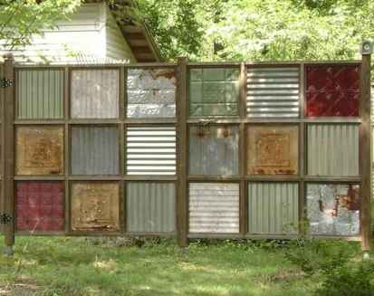 06 Affordable Backyard Privacy Fence Ideas