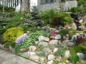 06 Gorgeous Front Yard Rock Garden Landscaping Ideas