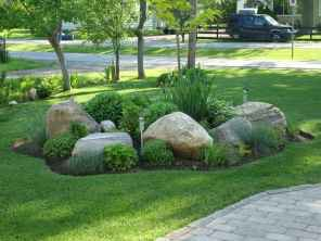 07 Gorgeous Front Yard Rock Garden Landscaping Ideas