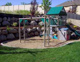 18 Small Backyard Playground Landscaping Ideas on a Budget