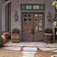 19 Beautiful Wooden and Stone Front Porch Ideas