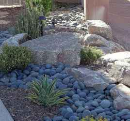 25 Gorgeous Front Yard Rock Garden Landscaping Ideas