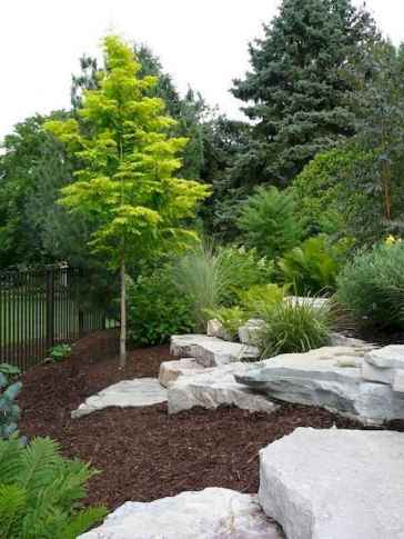 26 Gorgeous Front Yard Rock Garden Landscaping Ideas