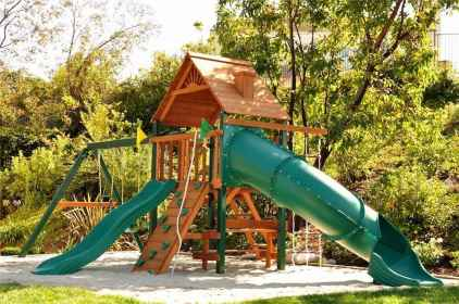 32 Small Backyard Playground Landscaping Ideas on a Budget