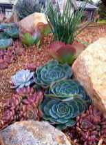 35 Gorgeous Front Yard Rock Garden Landscaping Ideas