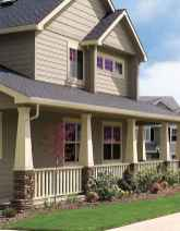 41 Beautiful Wooden and Stone Front Porch Ideas