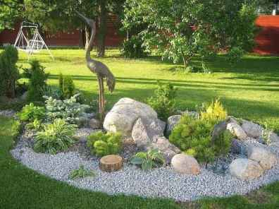 41 Gorgeous Front Yard Rock Garden Landscaping Ideas