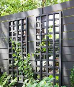 52 Affordable Backyard Privacy Fence Ideas
