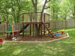 52 Small Backyard Playground Landscaping Ideas on a Budget
