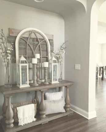 53 Welcoming Rustic Farmhouse Entryway Decorating Ideas
