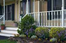 58 Beautiful Wooden and Stone Front Porch Ideas