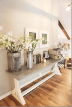 58 Welcoming Rustic Farmhouse Entryway Decorating Ideas