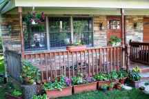 61 Beautiful Wooden and Stone Front Porch Ideas