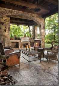 66 Beautiful Wooden and Stone Front Porch Ideas