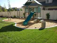 67 Small Backyard Playground Landscaping Ideas on a Budget