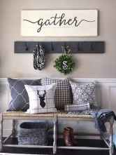 68 Welcoming Rustic Farmhouse Entryway Decorating Ideas