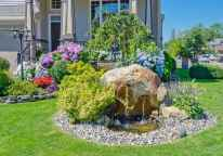 82 Gorgeous Front Yard Rock Garden Landscaping Ideas