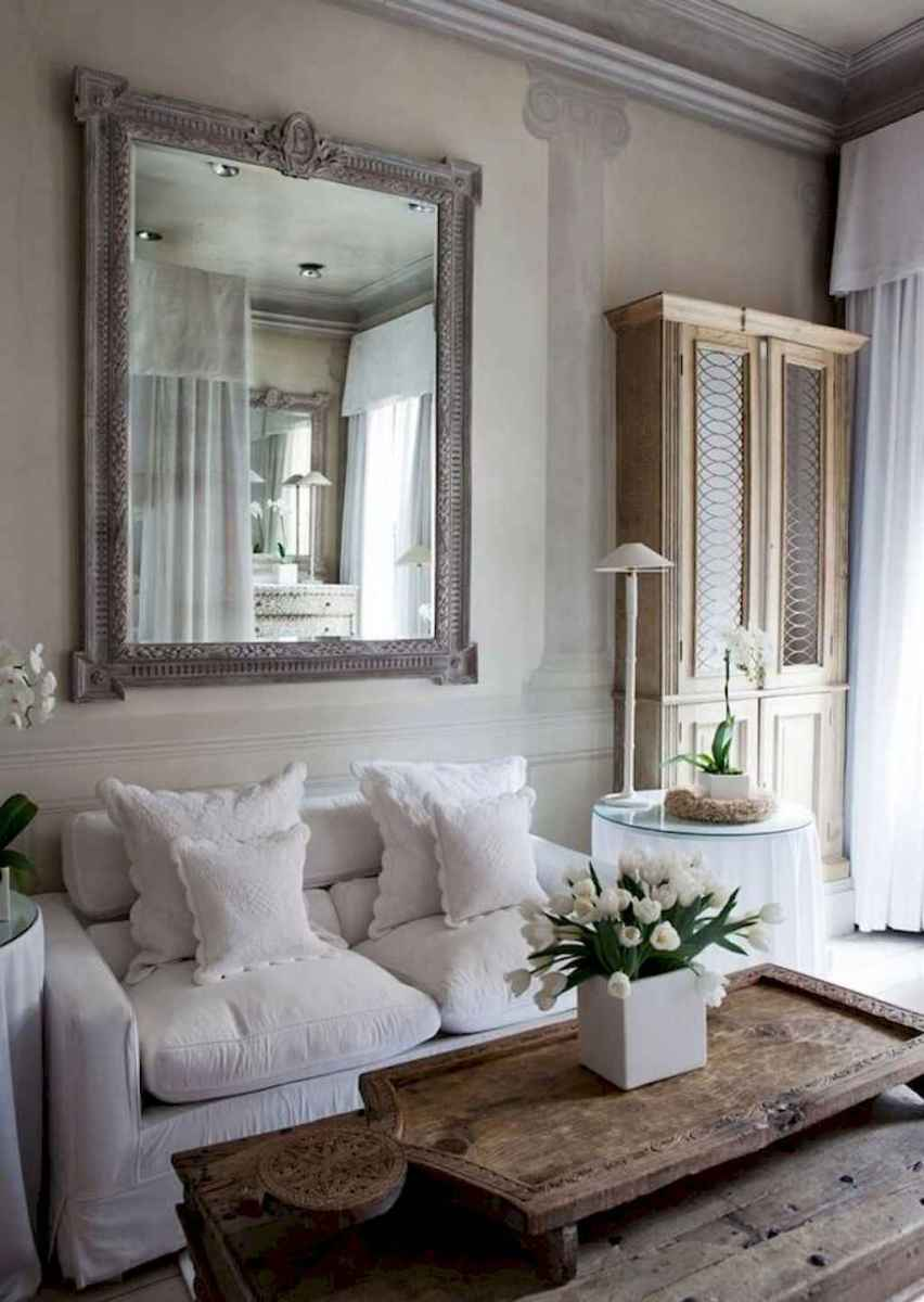03 Incredible French Country Living Room Decor Ideas