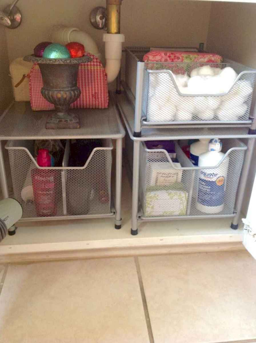 08 Clever and Easy Bathroom Organization Ideas