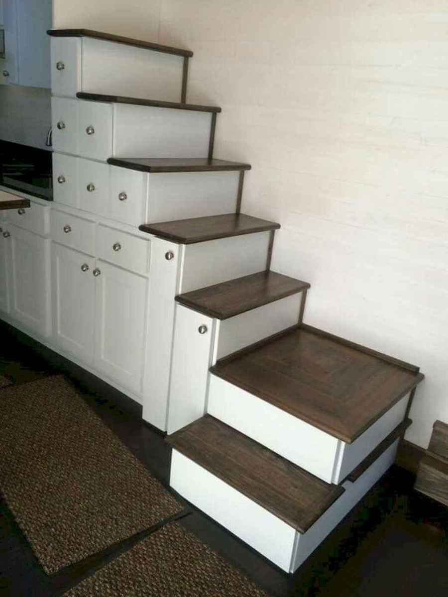 11 Clever Loft Stair Design for Tiny House Ideas