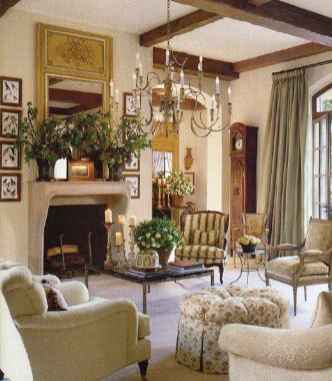 12 Incredible French Country Living Room Decor Ideas