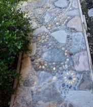 27 Magnificent DIY Mosaic Garden Path Decorations For Your Inspiration