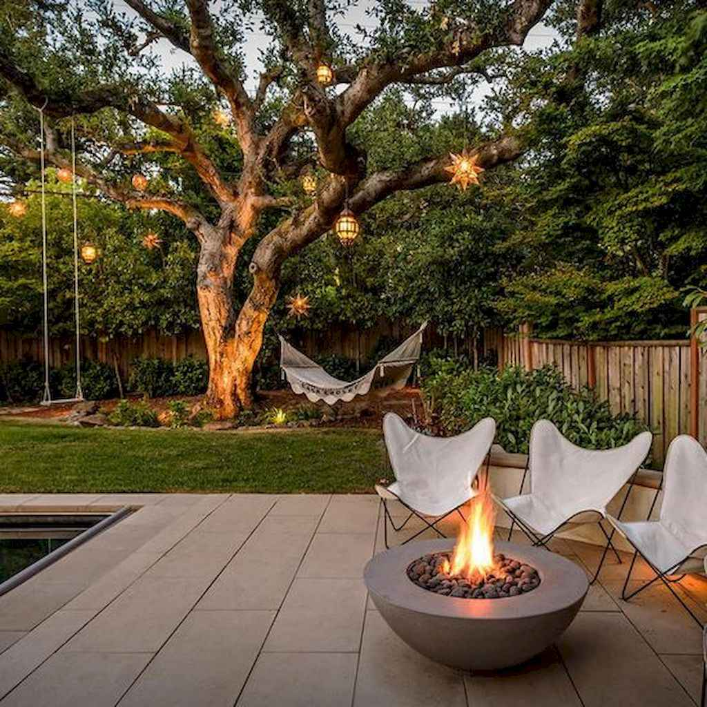 43 Awesome Backyard Fire Pits with Seating Ideas