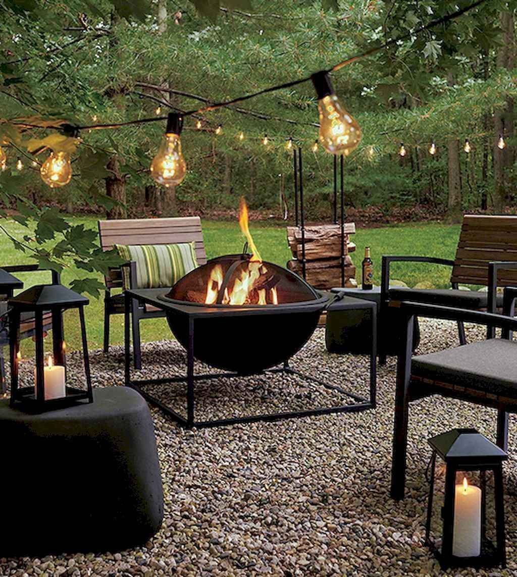 51 Awesome Backyard Fire Pits with Seating Ideas